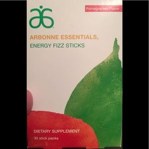 Arbonne fizz sticks - pomegranate flavor